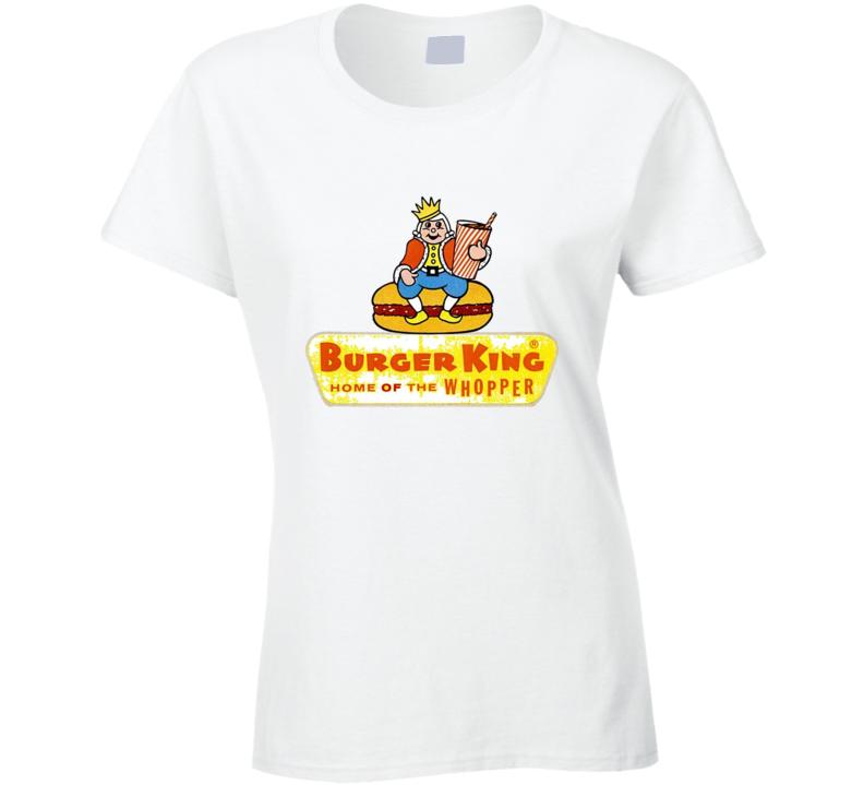 Burger King Vintage Ladies T Shirt