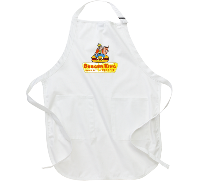 Burger King Vintage Apron
