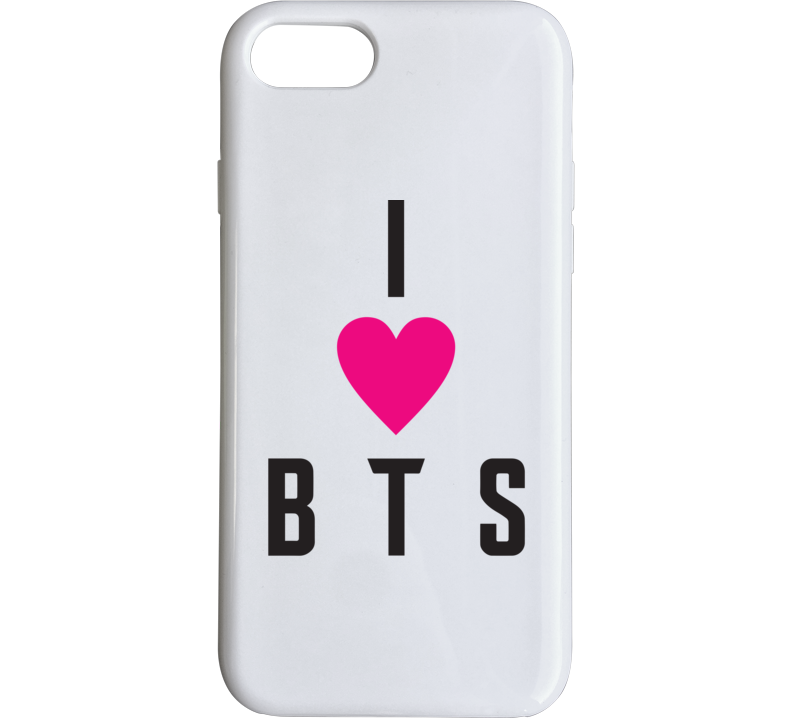 I Heart Bts Bangtan Boys Phone Case