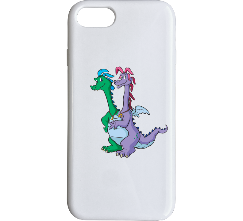 Dragon Tales Zak And Wheezie Phone Case