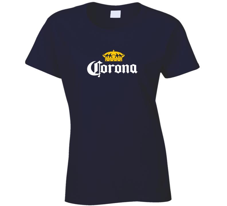 Corona Beer Ladies T Shirt