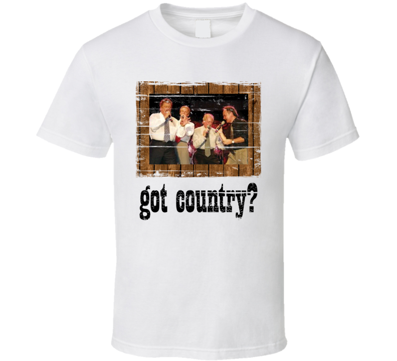The Statler Brothers Got Country Distressed Image Cool T Shirt