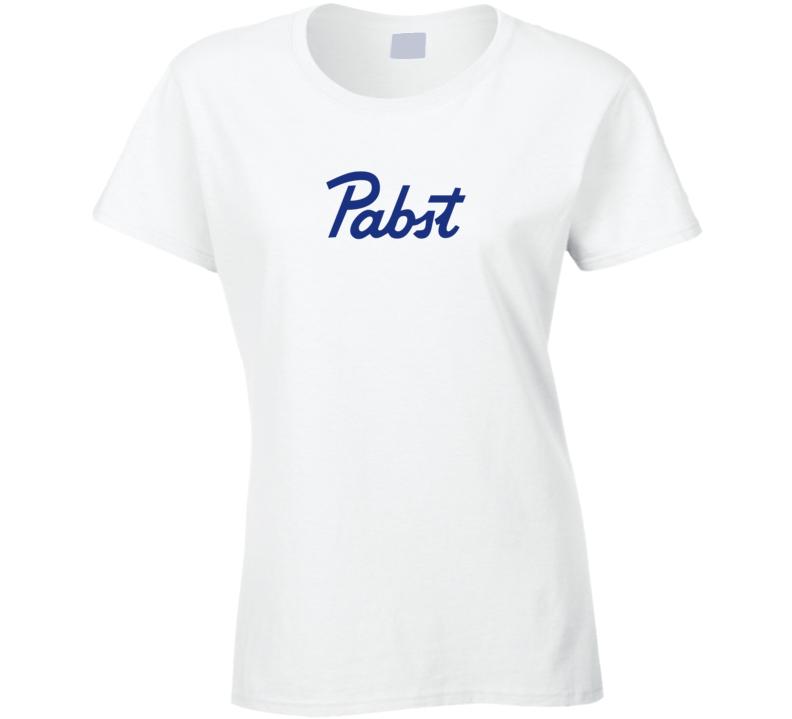 Pabst Beer Ladies T Shirt