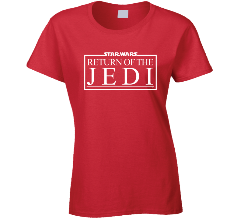 Return Of The Jedi Ladies T Shirt