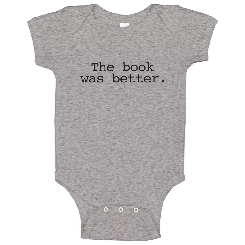 The Book Was Better Alex Rider Inspired Baby One Piece