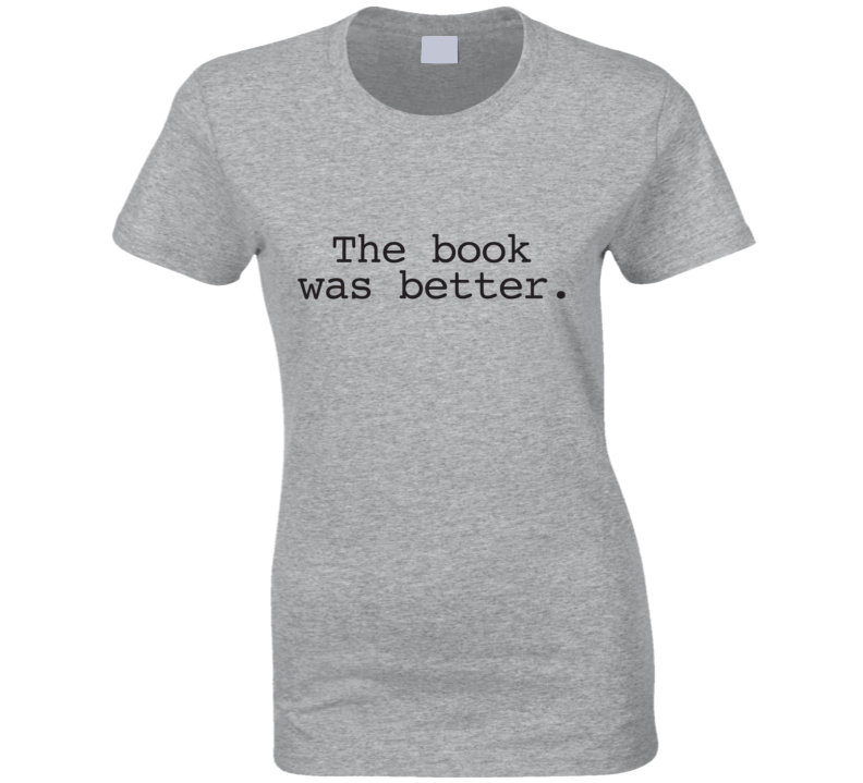 The Book Was Better Alex Rider Inspired Ladies T Shirt
