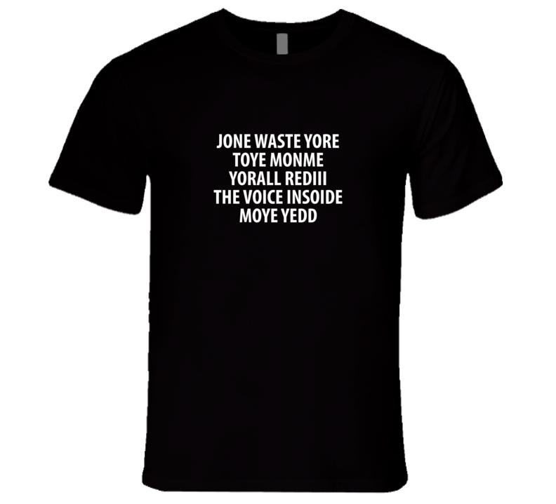 Blink 182 Translation T Shirt