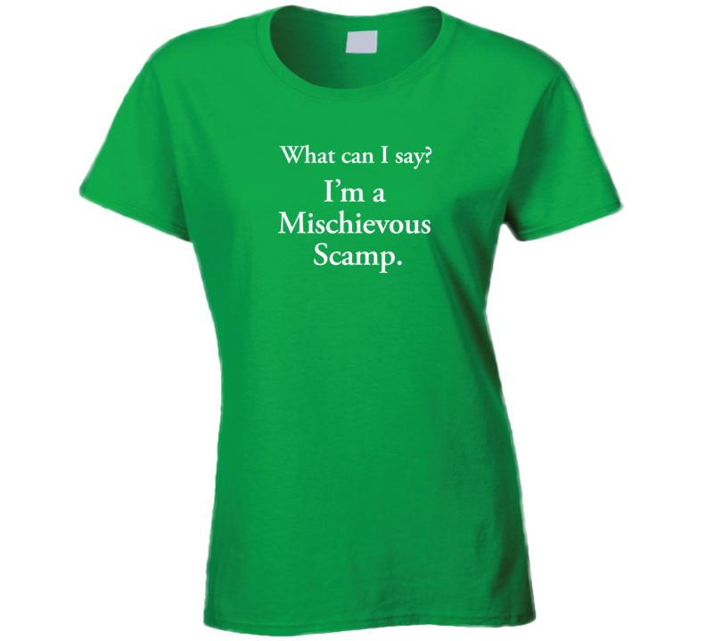 Loki Mischievous Scamp Ladies T Shirt