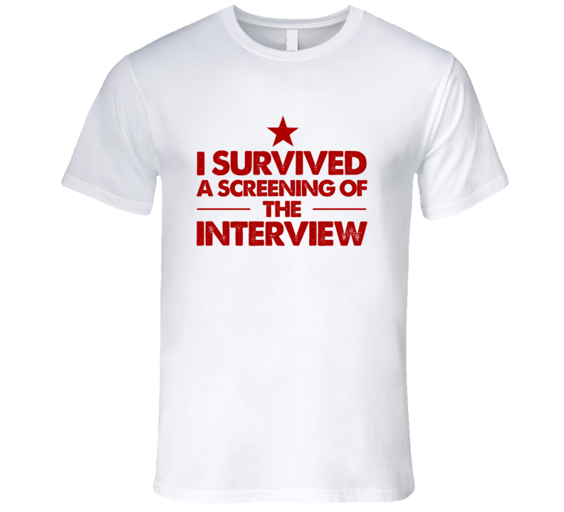 I Survived The Interview Movie T Shirt