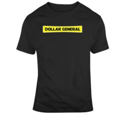 Dollar General Retail Company Logo T Shirt