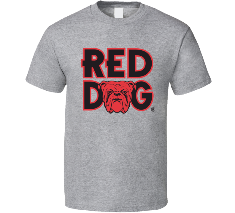 Red Dog Beer Logo T Shirt