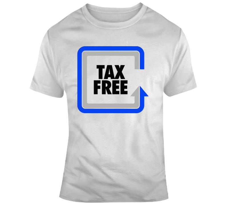 Tax Free Logo T Shirt