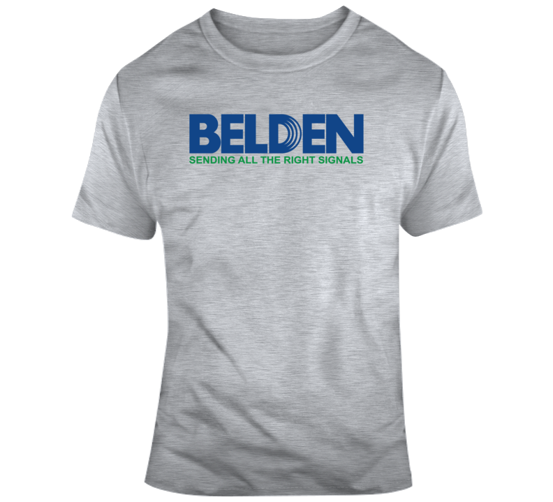 Belden Logo  T Shirt