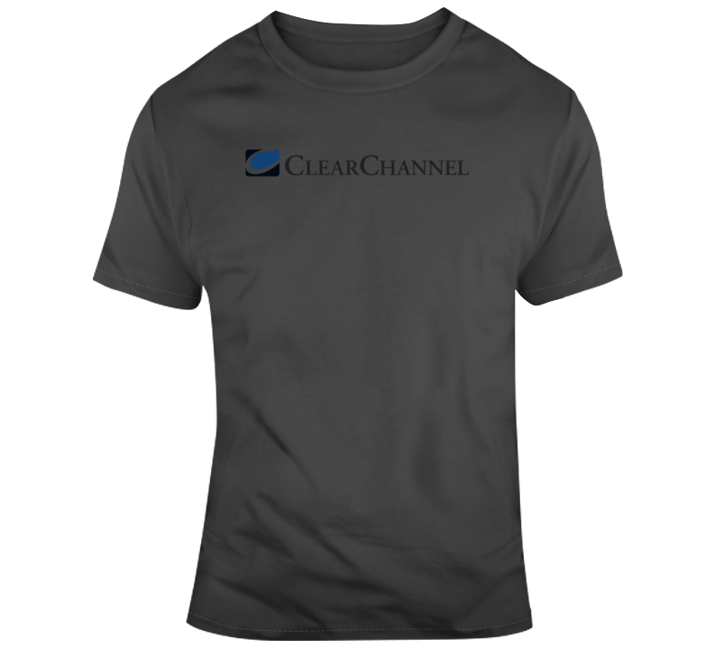 Clear Channel Logo  T Shirt