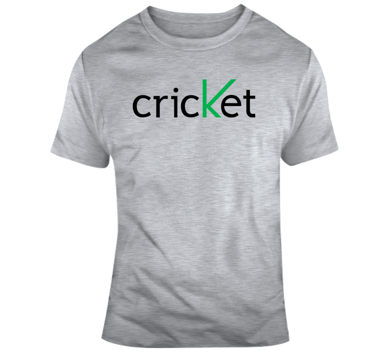 Cricket Logo  T Shirt