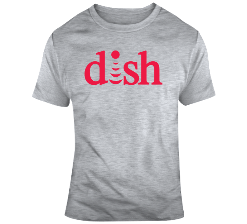 Dish Network Logo   T Shirt