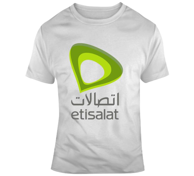 Etisalat Logo  T Shirt