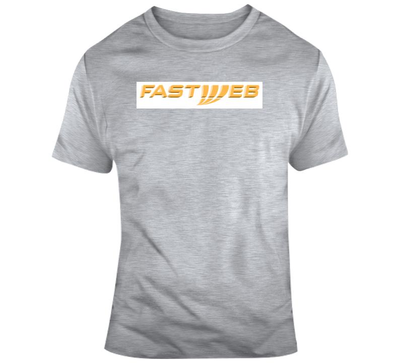 Fastweb Logo  T Shirt