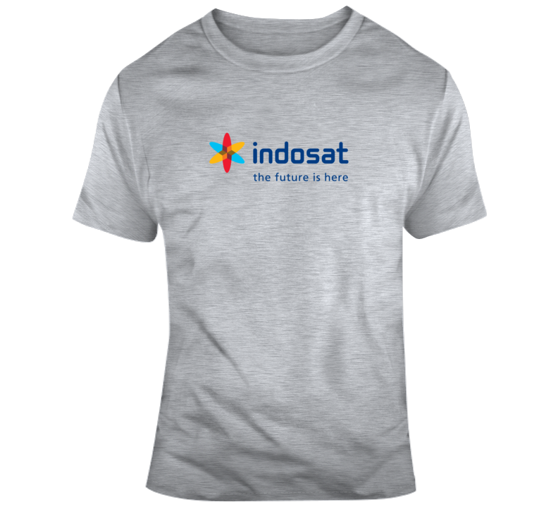 Indosat Logo  T Shirt