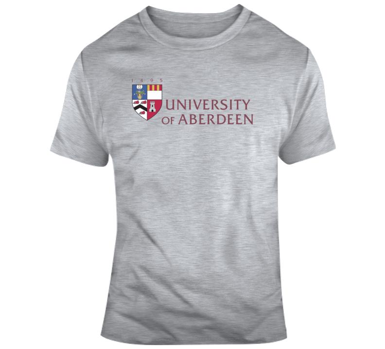 University Of Aberdeen Logo T Shirt