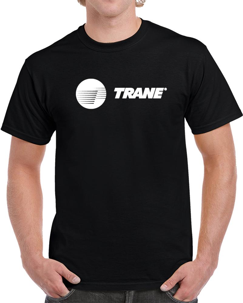 Trane White Logo T Shirt
