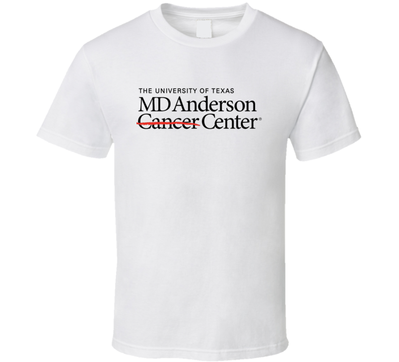 Md Anderson Cancer Center Logo T Shirt