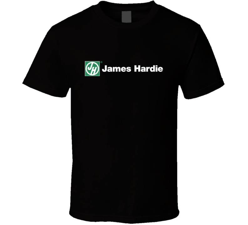 Construction James Hardie Logo Cool T Shirt