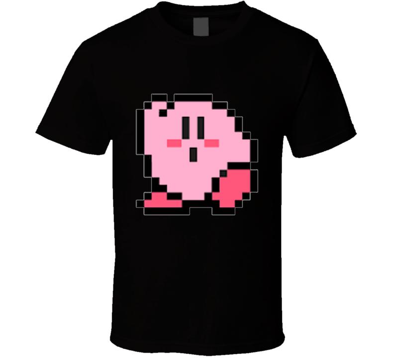 Kirby 8-bit T Shirt