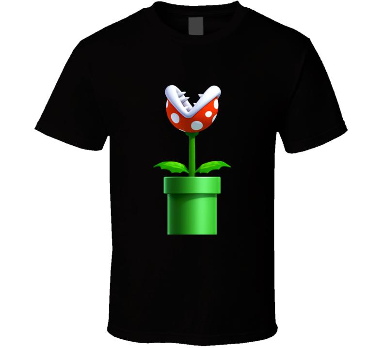 Mario Piranha Plant T Shirt