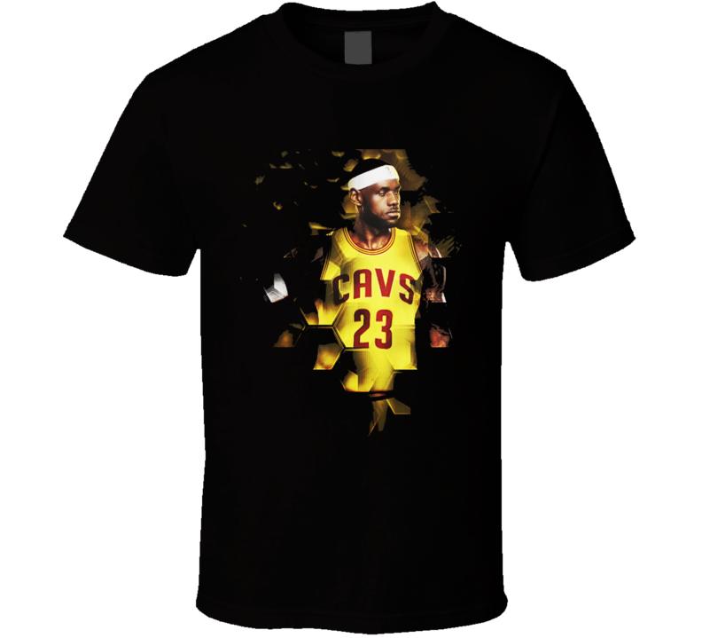 Lebron James Fan Made Concept T-Shirt