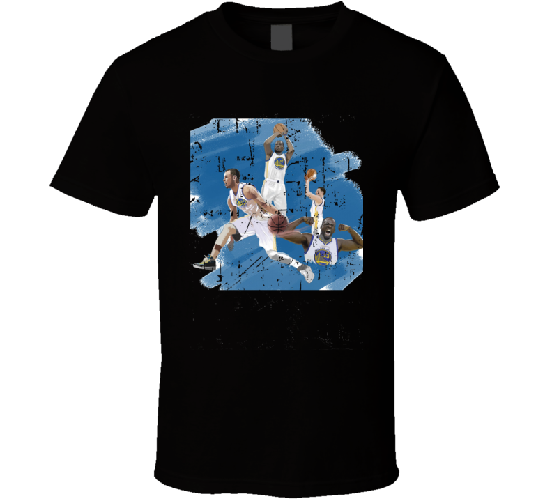 Keving Durant And Splash Brothers Grunge T-Shirt