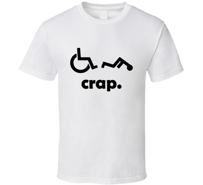 Handicap Oh Crap Parody T-Shirt