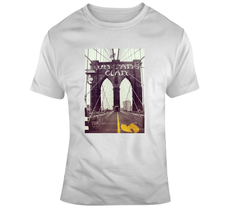Cool Wu-tang Clan Bridge T Shirt