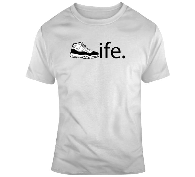 Jordan Is Life Sneaker Head T Shirt