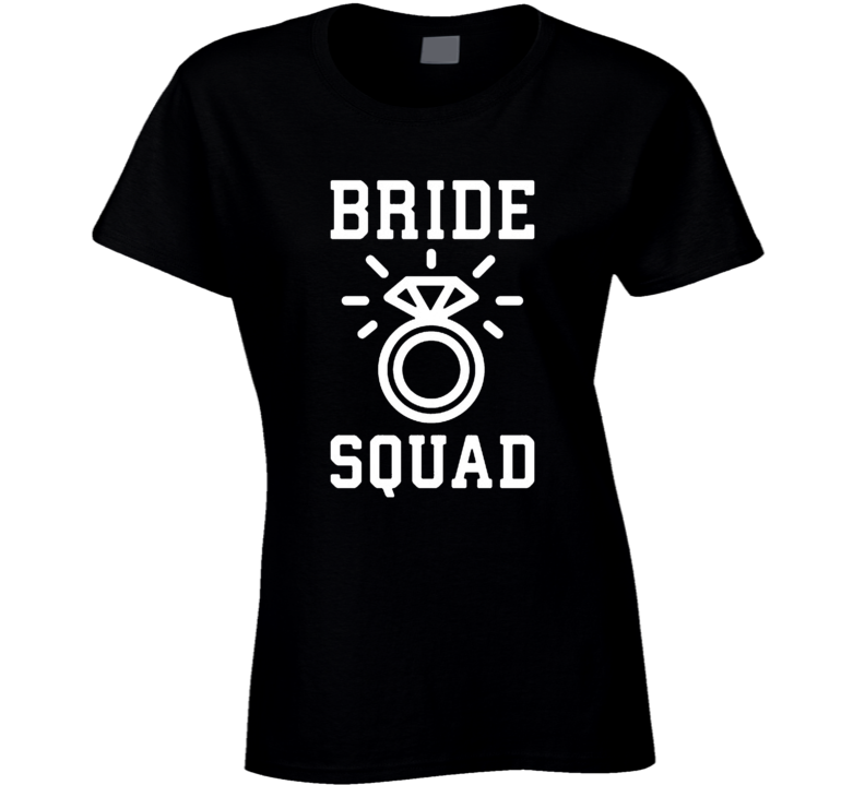 Cool Bride Squad T Shirt