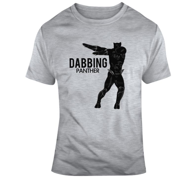 Dabbing Black Panther Dab T Shirt