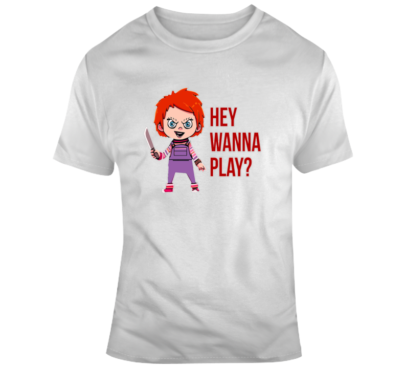Chuckie Want To Play T Shirt