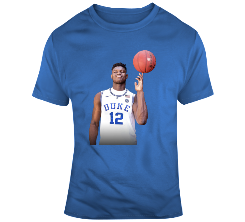 Zion Williams Duke Basketball T-shirt
