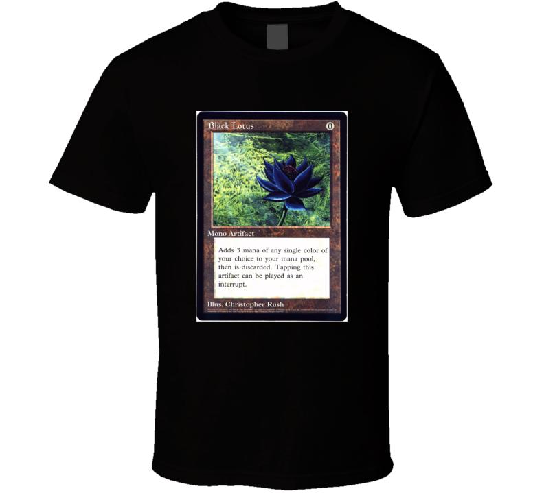 Black Lotus T Shirt