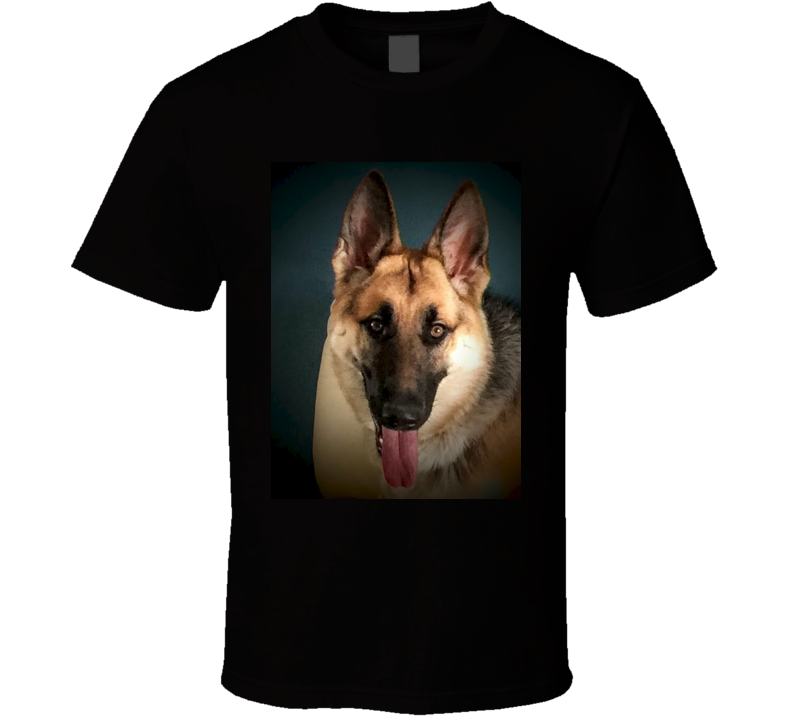 Black German Shepherd T Shirt