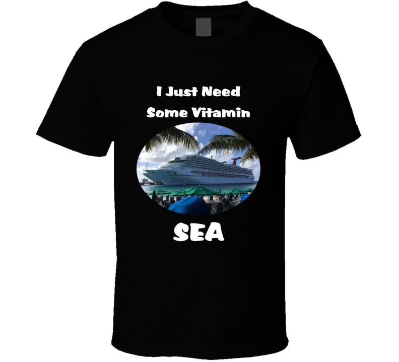 Vitamin Sea T Shirt