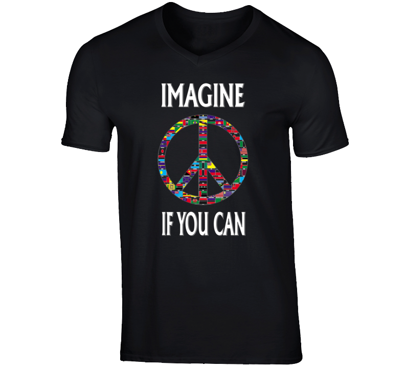 Imagine If You Can T Shirt v.2