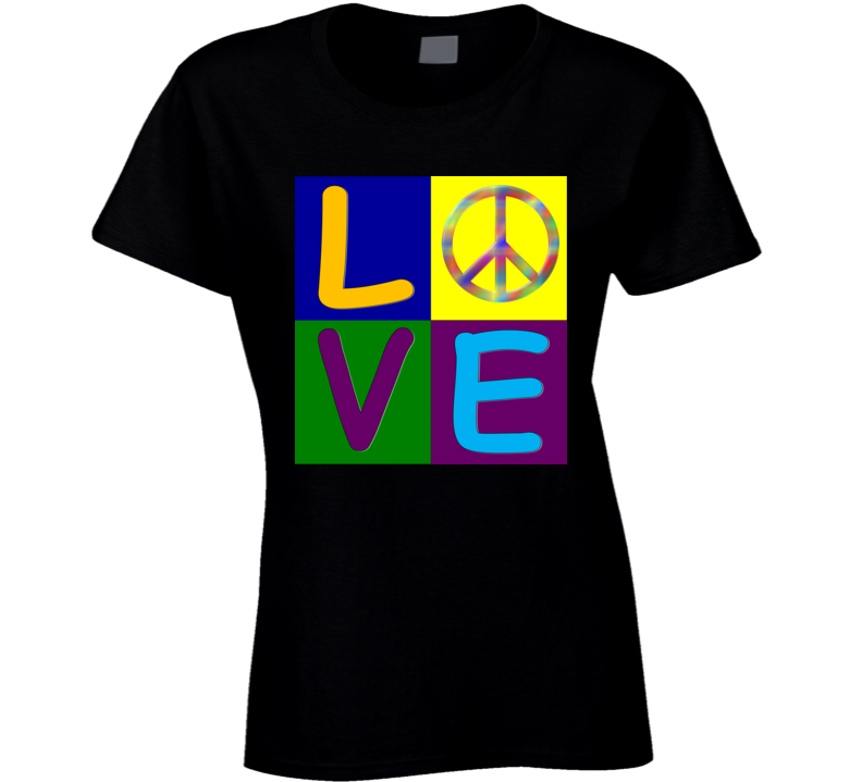 Love and Peace T Shirt
