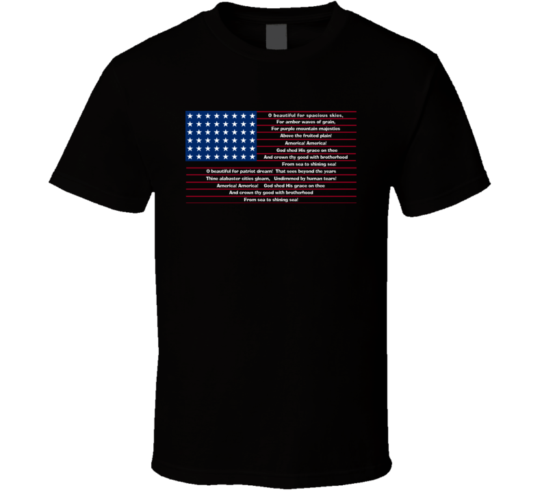 America the Beautiful T Shirt