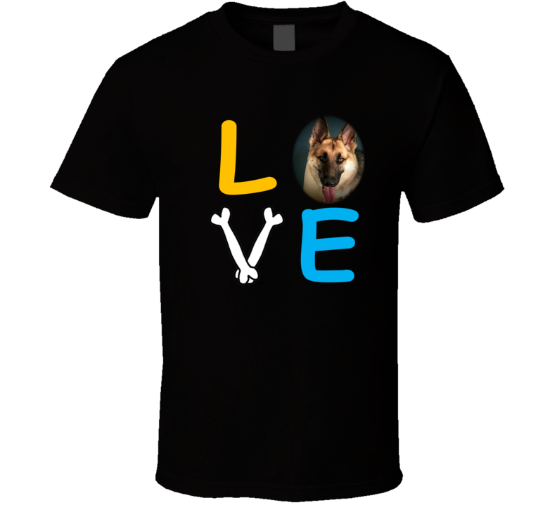 Love for German Shepherd T Shirt