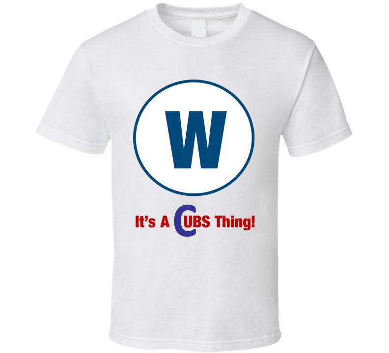 Cubs W T Shirt