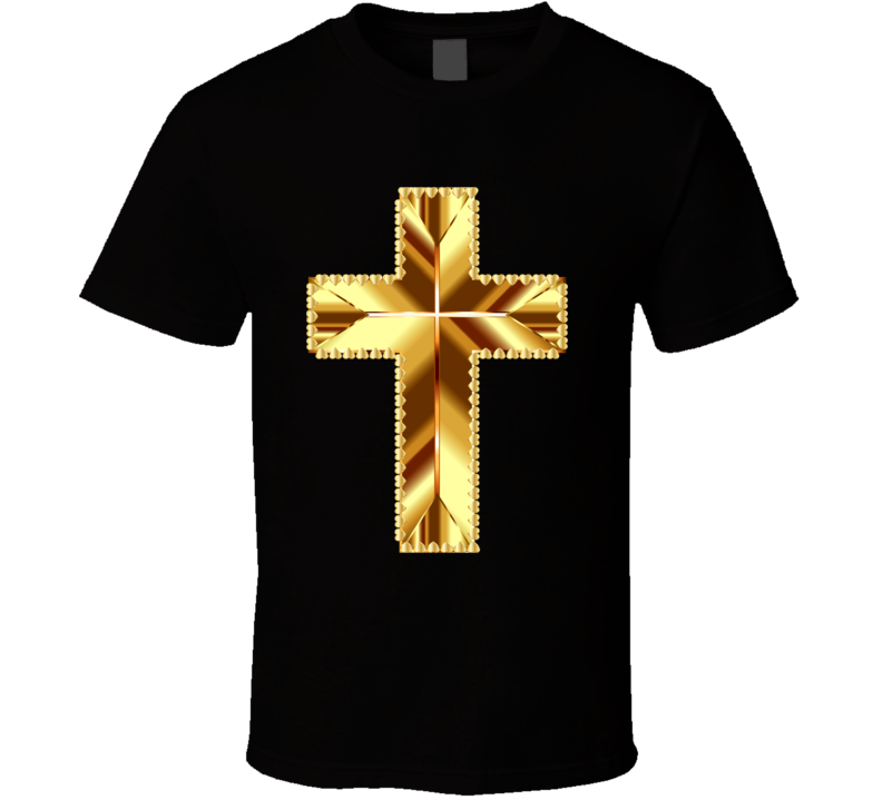 Golden Cross T Shirt