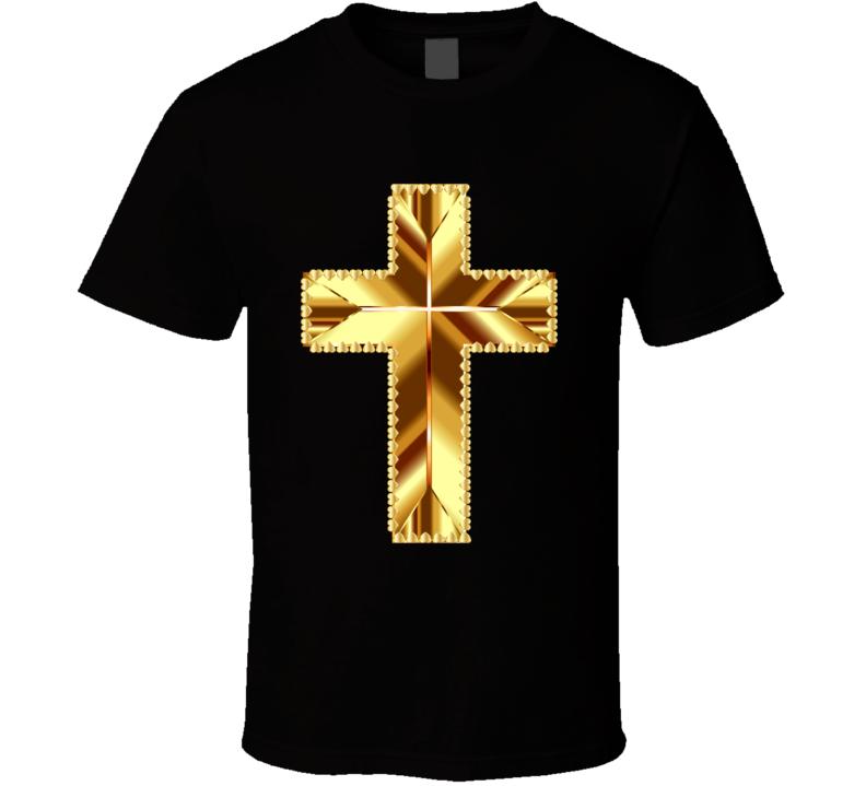 Golden Cross T Shirt