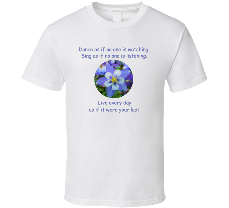 Dance as if no one is watching v.2 T Shirt