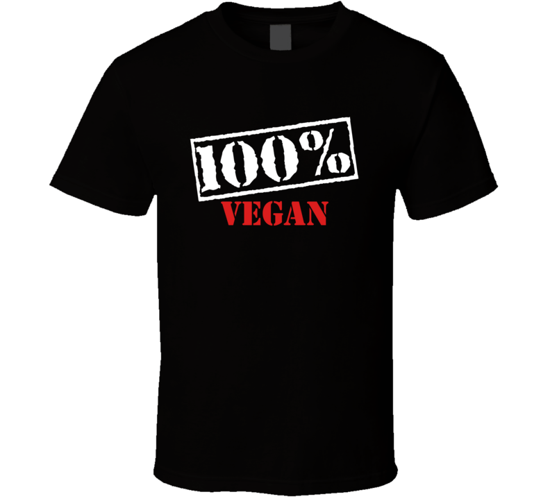100% Vegan V.1 T Shirt